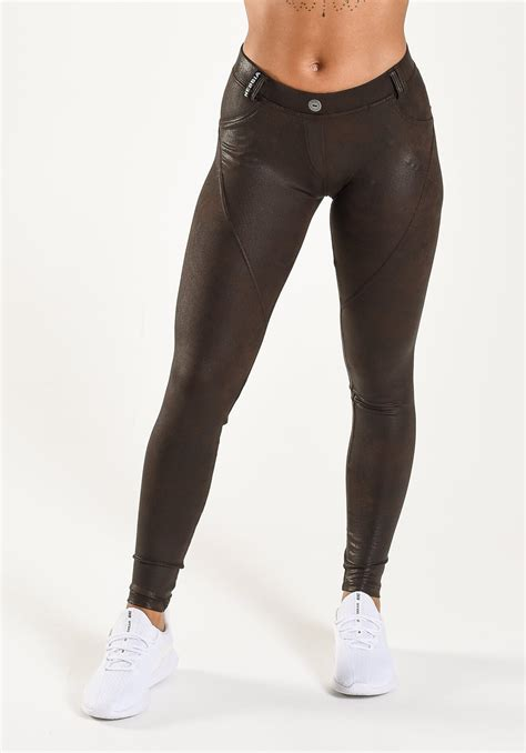 Nebbia - Bubble Butt Faux Leather Pants - One More Rep