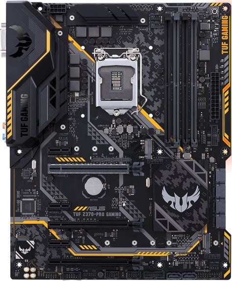 Asus TUF Z370-Pro Gaming - Motherboard Specifications On