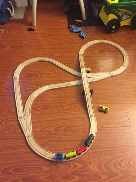 Version of the IKEA Lillabo train set making it with a