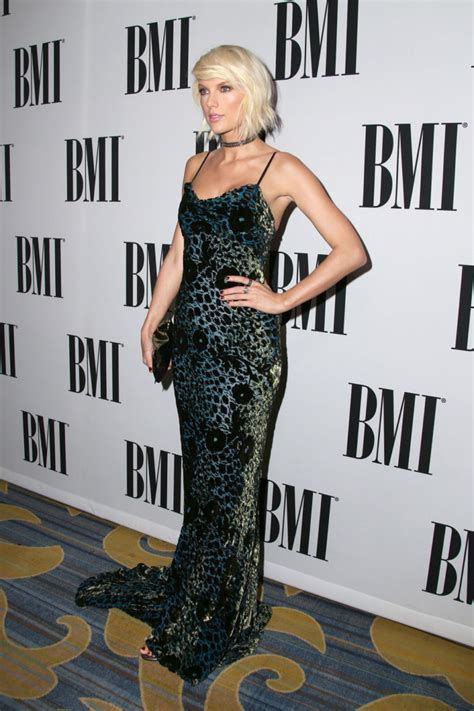 Taylor Swift in Monique Lhuillier at the 2016 BMI Pop