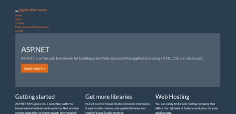 css - Bootstrap template is not working in MVC application