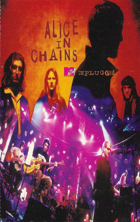 Alice In Chains - MTV Unplugged (1996, Cassette)   Discogs