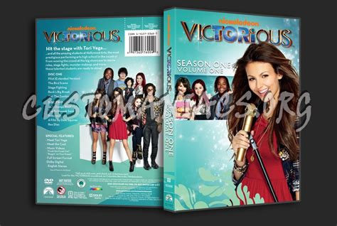 Victorious Season 1 Volume 1 dvd cover - DVD Covers