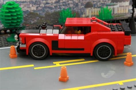 1969 Ford Mustang BOSS 302: A LEGO® creation by marcel