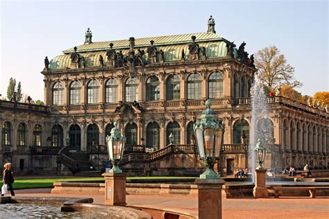 The Zwinger is a palace in Dresden, eastern Germany