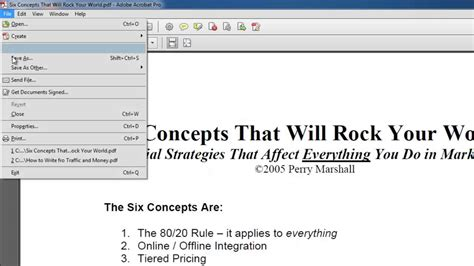 How to Convert PDF to Word in Acrobat XI - YouTube