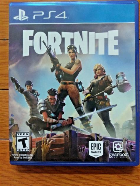 Fortnite (Sony PlayStation 4, 2017) PS4 Game: $44
