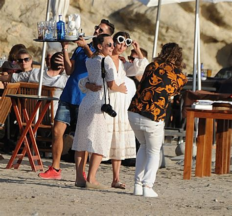ALICIA VIKANDER in Ibiza on the Eve of Her Rumoured