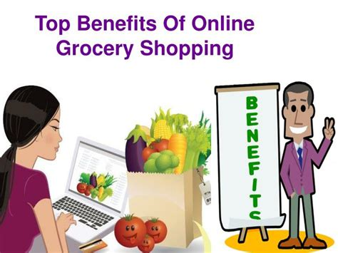 PPT - Top benefits of online grocery shopping PowerPoint