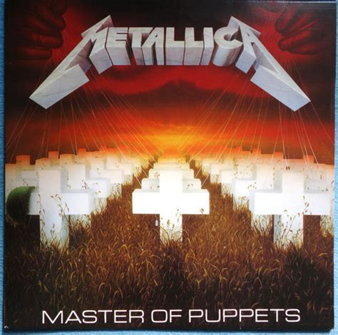 Metallica - Master Of Puppets (Red Marbled, Vinyl)   Discogs