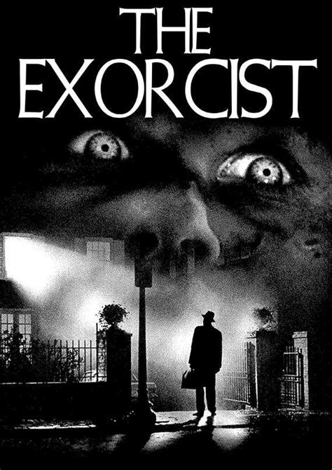 The Exorcist A4 Printable Poster Horror Poster Download TIFF