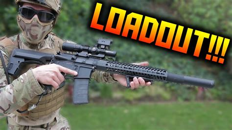 Airsoft Multicam HPA DMR Loadout! 😮👌  2016 Airsoft