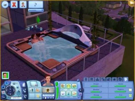 Sims 3 Late Night: What really happens during a hot tub