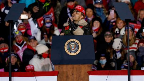 Attention-Starved Lil Pump Takes Stage at Trump Rally