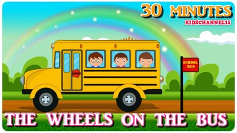 The Wheels On the Bus | Video songs for Kids | Children