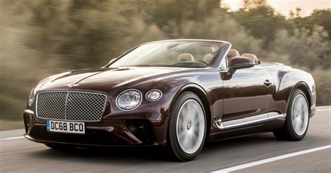 8 Reasons Why The 2020 Bentley Continental GT Convertible