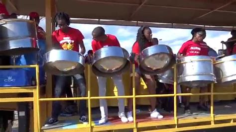 Steel Pan bands on Trinidad Carnival Monday 2015 filmed by