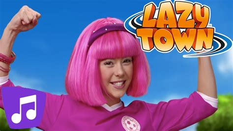 Lazy Town   All Together Music Video - YouTube
